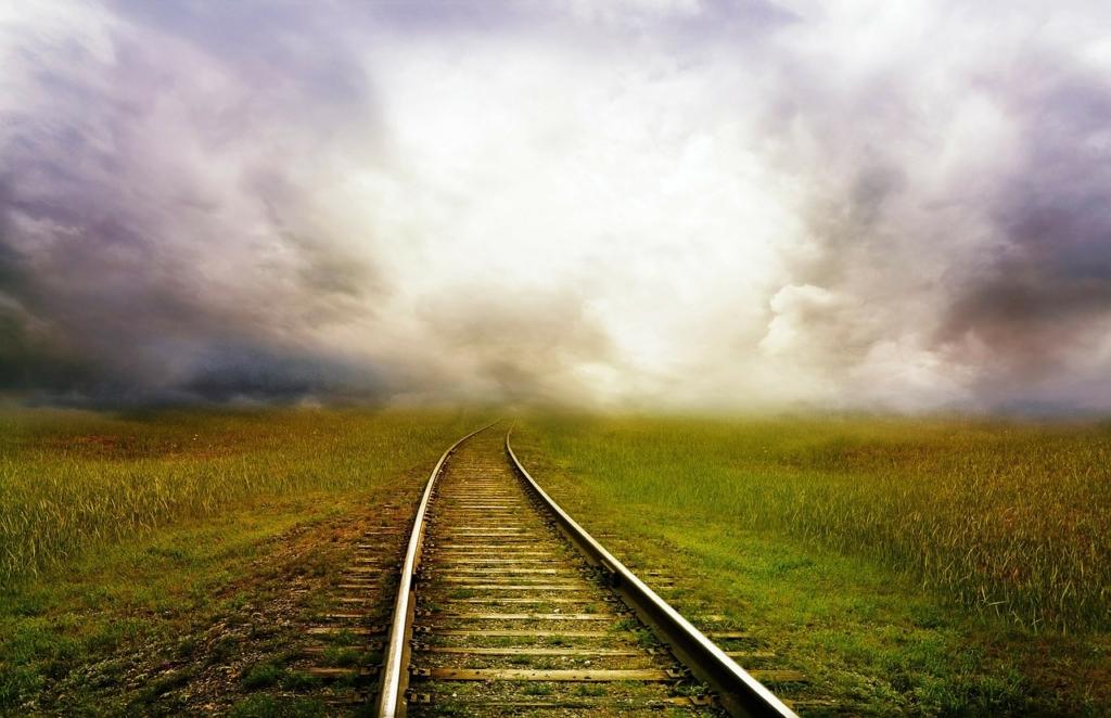 strada ferrovia fantasia