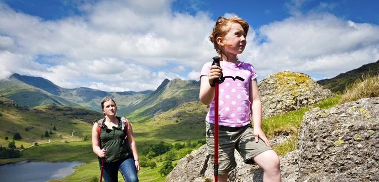 educazione montagna bambini passeggiate