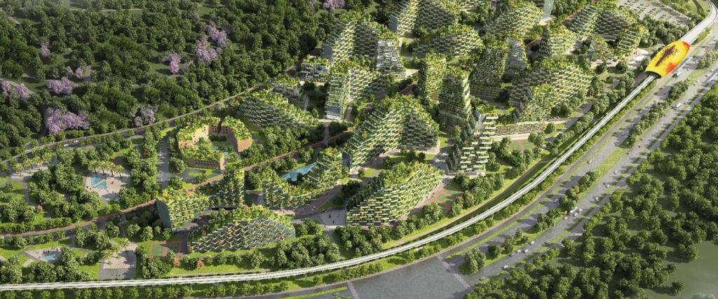 Ambiente ecosostenibile città