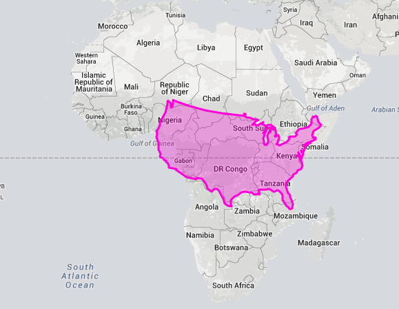 The True Size USA