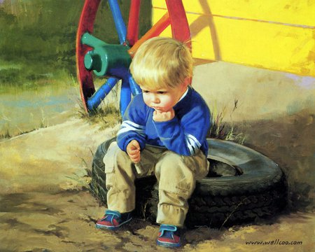 filosofia pensatore bambino