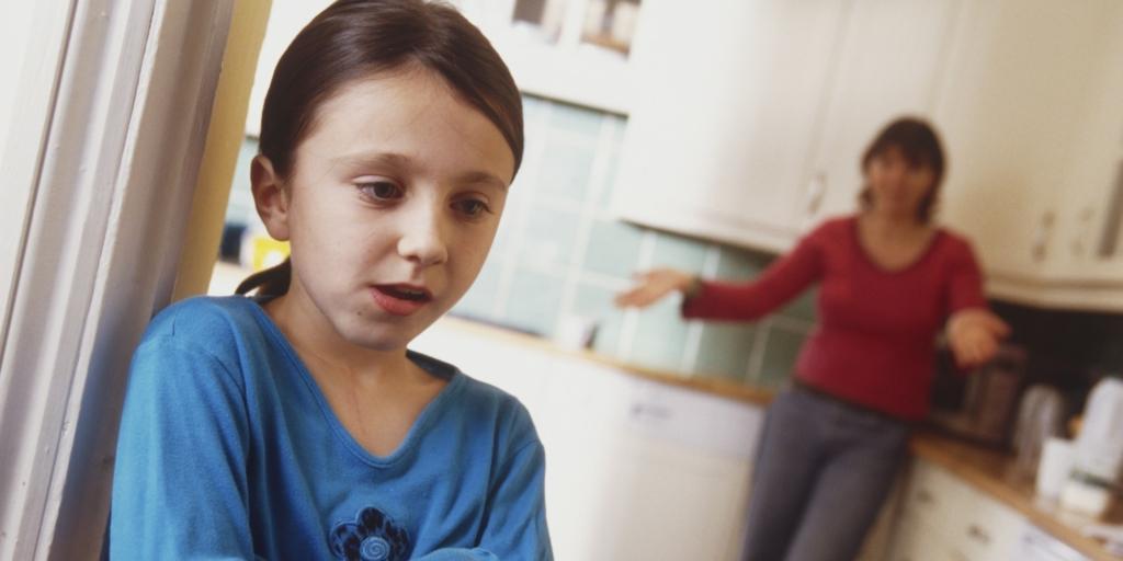 arrabbiato genitori punizione