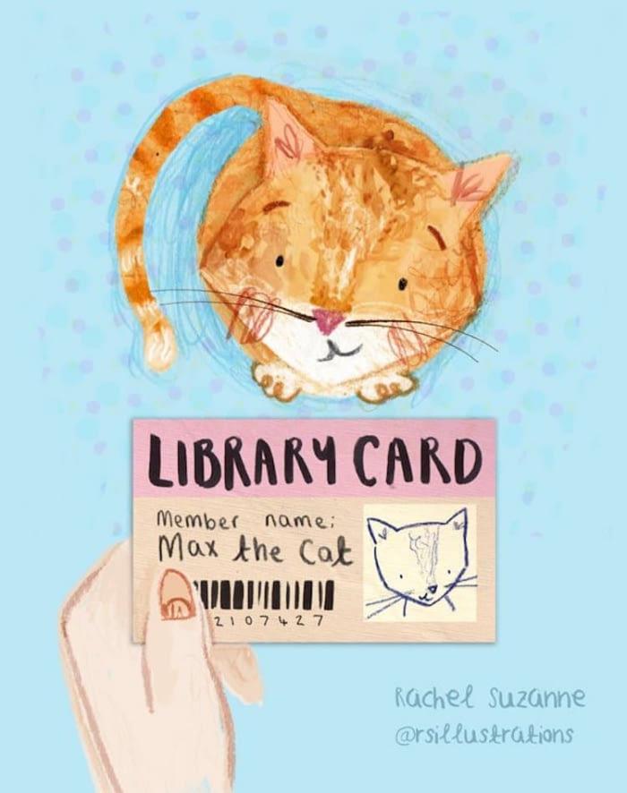 libri biblioteca tessera Max