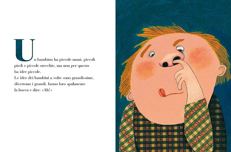 albo illustrato che cos'è un bambino Beatrice Alemagna Topipittori illustrato