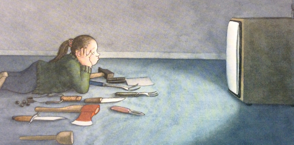 Cosa fanno le bambine? di Nikolaus Heidelbach, Donzelli editore, 2010 paura