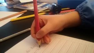 Presa corretta della matita metodo venturelli