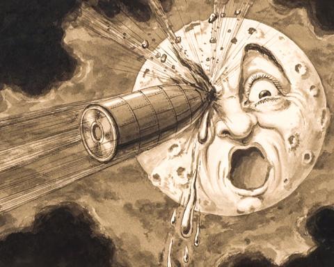 le voyage dans la lune – Georges Méliès